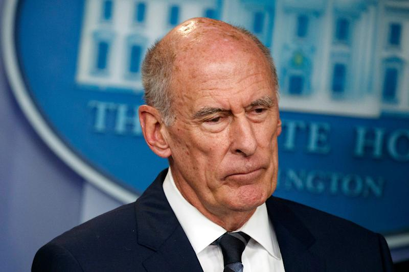 National Intelligence Director Dan Coats in Washington, D.C., in 2018.