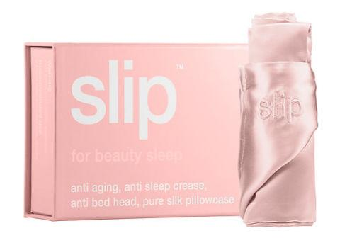 "<p>Trade in your worn-out pillowcase for a more luxurious option. A smooth silk pillowcase will keep your strands sleek, no matter how much you toss and turn, and prevent you from waking up with messy, frizzy hair.</p><p><em>Silk Pillowcase by Slip, $79, <a rel=""nofollow"" href=""http://www.sephora.com/silk-pillowcase-standard-queen-P402944""><span>sephora.com</span></a>.</em></p>"
