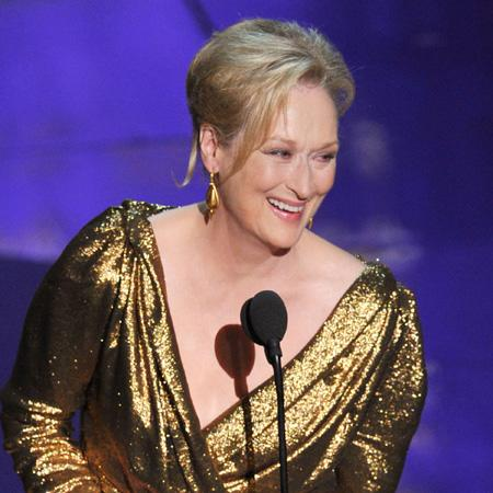 Meryl Streep's gold gown was 'loved'