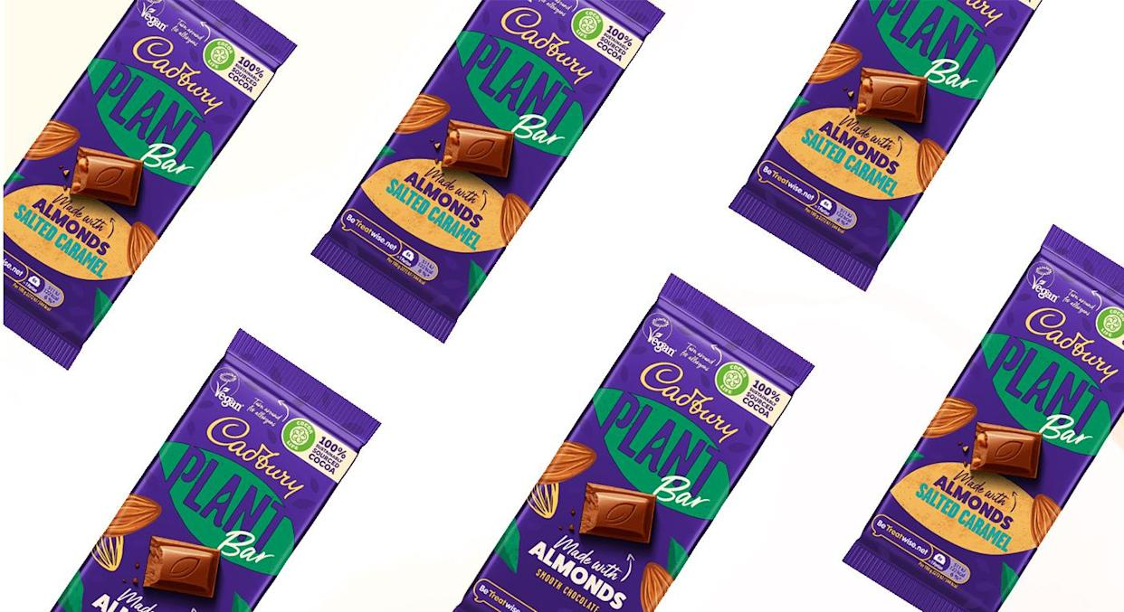 Cadbury has apologised for taking so long to release a plant-based chocolate bar. (Cadbury)