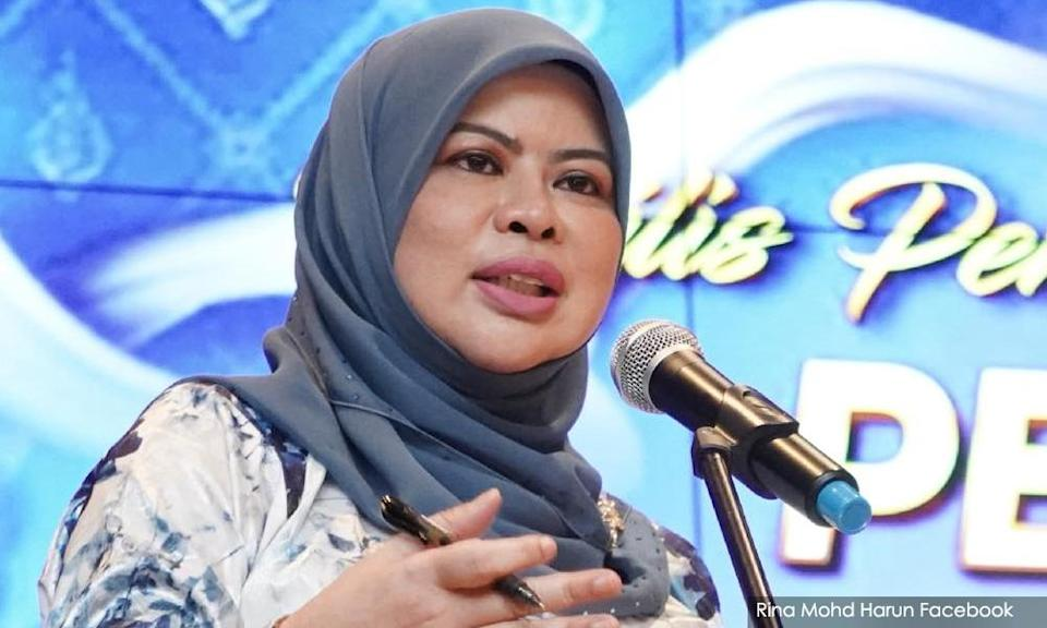 PKR Women: Rina should resign for failing to protect seniors from Covid-19