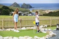 "<p>Stay in a comfortable self-catering cottage at the five-star Trevornick Holiday Park for an easy Cornwall family holiday with sea views. Just a short walk through the dunes to the beautiful Holywell Bay Beach, <a href=""https://go.redirectingat.com?id=127X1599956&url=https%3A%2F%2Fwww.booking.com%2Fhotel%2Fgb%2Fpopham-cottage-in-cornwall-newquay.en-gb.html%3Faid%3D2070936%26label%3Dfamily-holidays-cornwall&sref=https%3A%2F%2Fwww.prima.co.uk%2Ftravel%2Fg34794327%2Fcornwall-family-holidays%2F"" rel=""nofollow noopener"" target=""_blank"" data-ylk=""slk:Popham Cottage"" class=""link rapid-noclick-resp"">Popham Cottage</a> sleeps up to four people and is <a href=""https://www.prima.co.uk/travel/a31093480/dog-friendly-holidays-with-hot-tub/"" rel=""nofollow noopener"" target=""_blank"" data-ylk=""slk:dog-friendly"" class=""link rapid-noclick-resp"">dog-friendly</a>, too. It's also just a short walk from the facilities on the Trevornick site, including an outdoor heated swimming pool and Jacuzzi, three golf courses and fishing lakes. </p><p>Families can also join in with all the scheduled onsite entertainment during the school holidays, and you can treat yourselves to dining out at the onsite restaurant or takeaway outlets. The golden sands of Perranporth Beach and Crantock Beach are also nearby.</p><p><a class=""link rapid-noclick-resp"" href=""https://go.redirectingat.com?id=127X1599956&url=https%3A%2F%2Fwww.booking.com%2Fhotel%2Fgb%2Fpopham-cottage-in-cornwall-newquay.en-gb.html%3Faid%3D2070936%26label%3Dfamily-holidays-cornwall&sref=https%3A%2F%2Fwww.prima.co.uk%2Ftravel%2Fg34794327%2Fcornwall-family-holidays%2F"" rel=""nofollow noopener"" target=""_blank"" data-ylk=""slk:CHECK AVAILABILITY"">CHECK AVAILABILITY</a></p>"