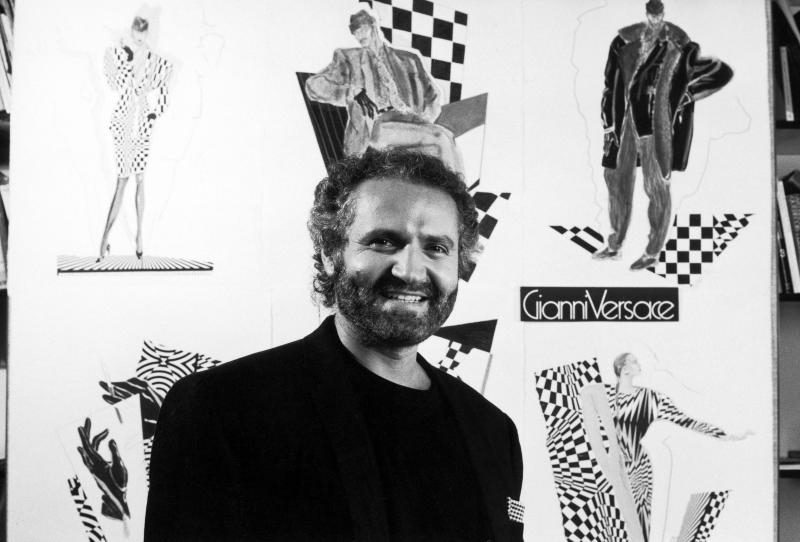Designer Gianni Versace. (Photo by David Lees/The LIFE Images Collection via Getty Images/Getty Images)