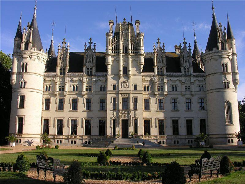 Moving into a castle isa real estate pipe dream as old as time. But you don't need to buy a royal-worthyestate to live like Belle and the Beast for a little while. Book a stay inof these stunning castles, available via vacation rental site HomeAway, and live out all your disney fantasies, if only for a few days.This spectacular home in Challain-la-Potherie, France, has 11 bedrooms and sleeps 55 of your dearest friends.Book It!Starting at $6,500 per night