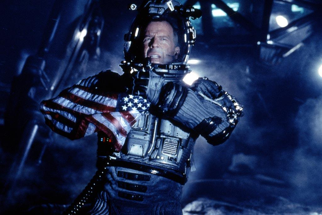 "<a href=""http://movies.yahoo.com/movie/1800020333/info"">Armageddon</a>  We could put together a long list of all the things wrong with <a href=""http://movies.yahoo.com/movie/contributor/1800020334"">Michael Bay</a>'s feel-good ode to global destruction, but NASA has already and they counted at least 168 mistakes. But perhaps the biggest problem is that the plot itself -- splitting a Texas-sized rock in two with a single nuke -- has a Texas-sized hole in it. We don't have a nuclear bomb anywhere near powerful enough to do the job. As strange as it might seem, this is a case of a <a href=""http://movies.yahoo.com/movie/contributor/1800020334"">Michael Bay</a> movie not having a big enough explosion."