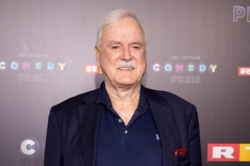 John Cleese weighs in on row over left-wing comedy: A woke joke wouldn't be very funny
