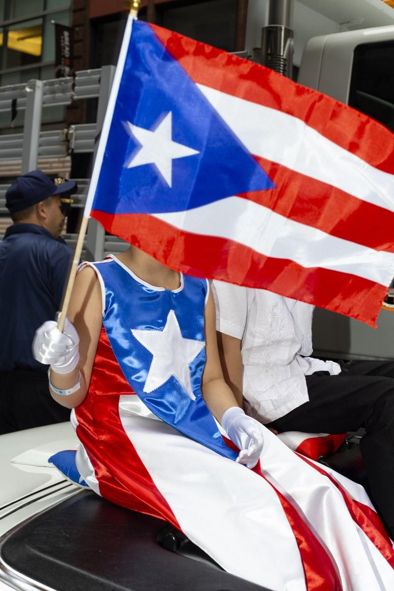 Maridelis captures a moment of pure Puerto Rican pride at the National Puerto Rican Day Parade on June 10, 2018, in New York City.
