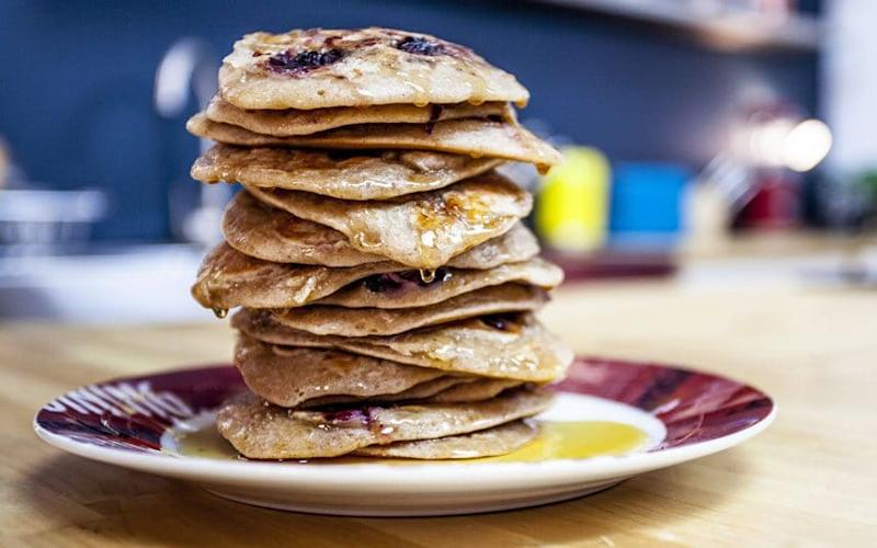 Rise and shine with our classic American pancake recipes - Barry Taylor