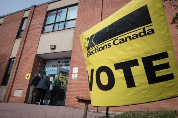 Canadians are concerned about safety as they head to the polls amid a fourth wave of the COVID-19 pandemic. (Tijana Martin/The Canadian Press - image credit)