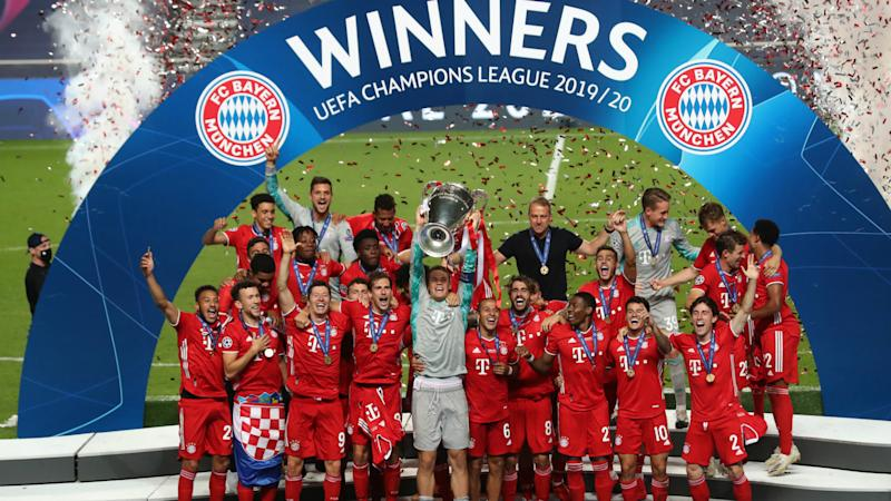 A perfect 11! Flawless Bayern set new Champions League record with PSG victory