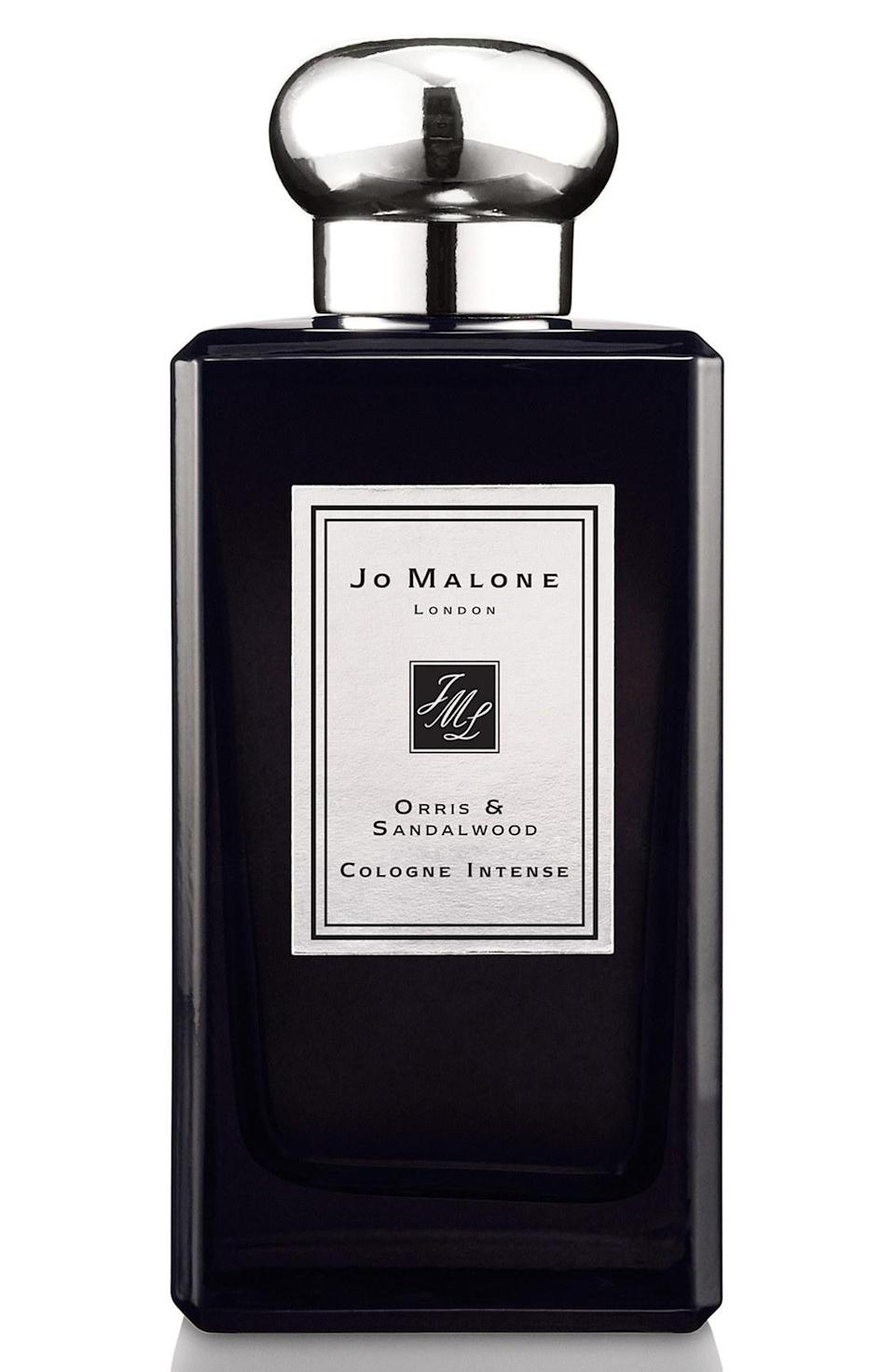 """<p>This newly-launched scent from the storied British house features a contemporary and beguiling blend of violet, orris, and sandalwood. Warm, sensual, and subtly spicy, consider this a masculine floral scent – especially great for guys who aren't afraid to push boundaries a bit. <b><a href=""""http://www.jomalone.com/product/3551/38740/Fragrances/Colognes/Orris-Sandalwood-Cologne-Intense"""" rel=""""nofollow noopener"""" target=""""_blank"""" data-ylk=""""slk:Jo Malone Orris & Sandalwood ($170)"""" class=""""link rapid-noclick-resp"""">Jo Malone Orris & Sandalwood ($170)</a></b></p>"""