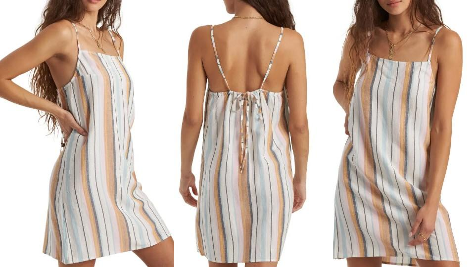 Billabong Daydreamer Yarn Dye Stripe Sundress - Nordstrom, $21 (originally $46)