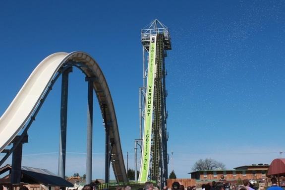 World's Tallest Waterslide: Why You Don't Fall Off