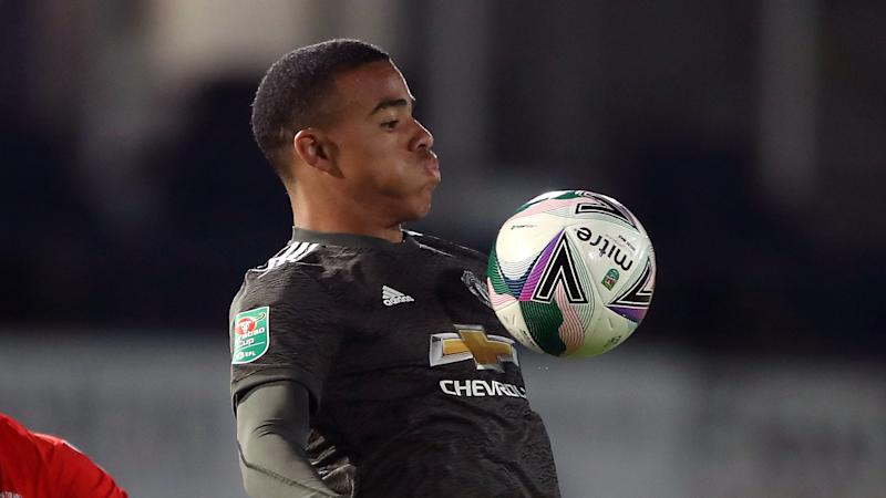 Mason Greenwood offered heading practice after Manchester United see off Luton