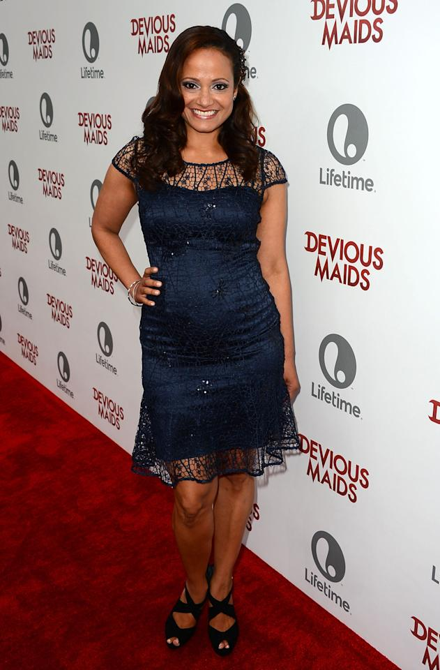PACIFIC PALISADES, CA - JUNE 17:  Actress Judy Reyes attends the premiere of Lifetime Original Series 'Devious Maids' at Bel-Air Bay Club on June 17, 2013 in Pacific Palisades, California.  (Photo by Mark Davis/Getty Images)