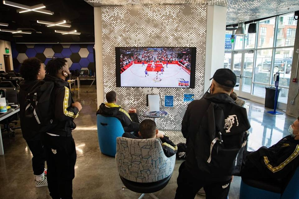 """""""I think what they have going on here is far and away more than I anticipated a university esports program being,"""" Gen.G Tigers Coach Len Ross said. """"It matches up really well (with L.A.) as far as a really cool esports experience."""""""