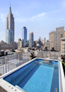 <p>There's also a pool. (Douglas Elliman) </p>