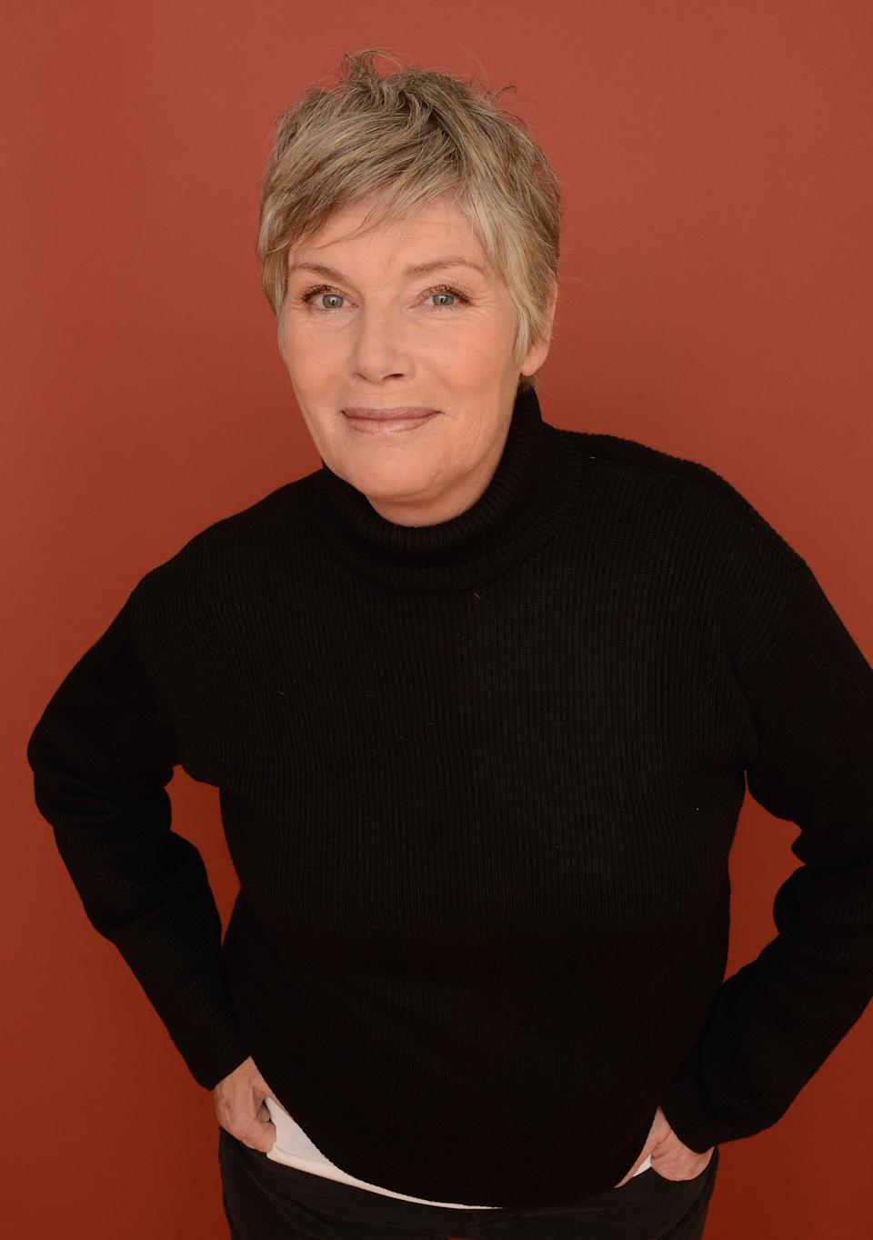 PARK CITY, UT - JANUARY 18:  Actress Kelly McGillis poses for a portrait during the 2013 Sundance Film Festival at the Getty Images Portrait Studio at Village at the Lift on January 18, 2013 in Park City, Utah.  (Photo by Larry Busacca/Getty Images)