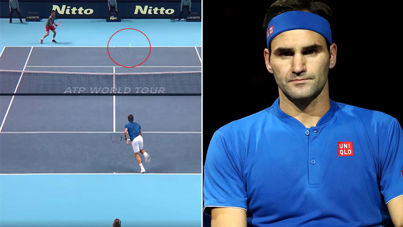 That's not how it's supposed to work. Image Tennis TV  GettyMore