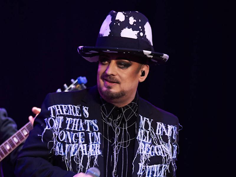 Boy George calls preferred pronouns 'a modern form of attention seeking'