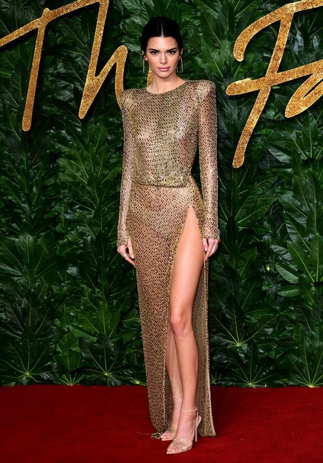 Kendall Jenner leaves little to the imagination in a sheer