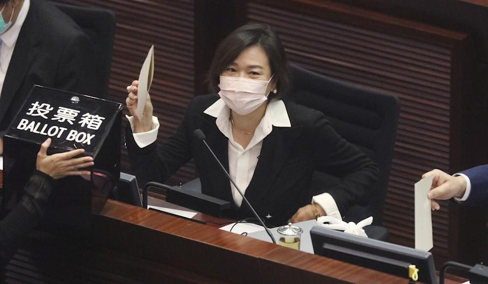 Priscilla Leung says it is only natural that Beijing tightens its control on Hong Kong. Photo: May Tse