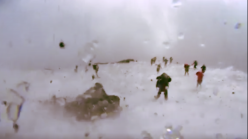 Watch: Hot Magma Flies out at BBC Crew Caught in Volcano Blast