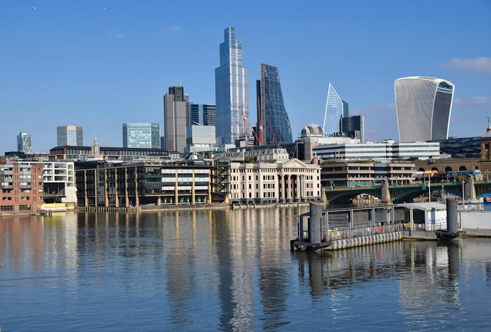 City of London skyline. Photo: Vuk Valcic/SOPA/LightRocket via Getty