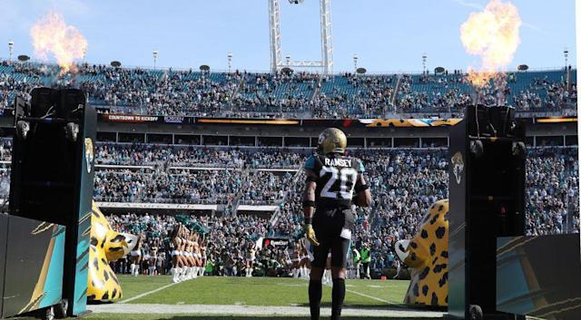 The Jacksonville Jaguars haven't hosted a playoff game since 2000. (Getty)