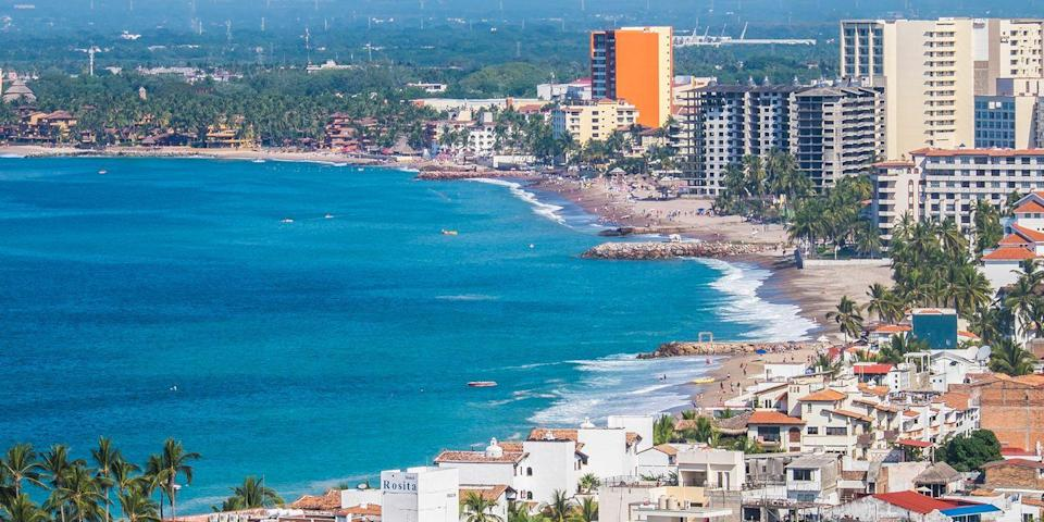 """<p>This Mexican resort town appeals to everyone from couples to spring breakers. They all appreciate that Puerto Vallarta's many bars and clubs are always lively. There are also plenty of water sports, including banana boat rides and parasailing. <br></p><p><a class=""""link rapid-noclick-resp"""" href=""""https://go.redirectingat.com?id=74968X1596630&url=https%3A%2F%2Fwww.tripadvisor.com%2FHotel_Review-g150793-d8632467-Reviews-Garlands_Del_Rio_Boutique_Hotel-Puerto_Vallarta.html&sref=https%3A%2F%2Fwww.redbookmag.com%2Flife%2Fg34756735%2Fbest-beaches-for-vacations%2F"""" rel=""""nofollow noopener"""" target=""""_blank"""" data-ylk=""""slk:BOOK NOW"""">BOOK NOW</a> Garlands del Rio</p><p><a class=""""link rapid-noclick-resp"""" href=""""https://go.redirectingat.com?id=74968X1596630&url=https%3A%2F%2Fwww.tripadvisor.com%2FHotel_Review-g150793-d302422-Reviews-Hacienda_San_Angel-Puerto_Vallarta.html&sref=https%3A%2F%2Fwww.redbookmag.com%2Flife%2Fg34756735%2Fbest-beaches-for-vacations%2F"""" rel=""""nofollow noopener"""" target=""""_blank"""" data-ylk=""""slk:BOOK NOW"""">BOOK NOW</a> Hacienda San Angel</p>"""