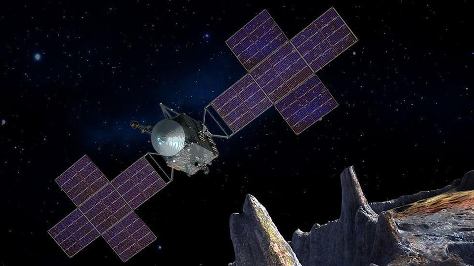 <p>The world will get its first close-up of Psyche, one of the 10 major asteroids in the asteroid belt which scientists theorize is the exposed nickel-iron core of a protoplanet. </p><p> Launching in 2022, the mission will take four years to reach its destination, but once there, it will conduct groundbreaking science while delivering images that further illuminate our solar system.</p>