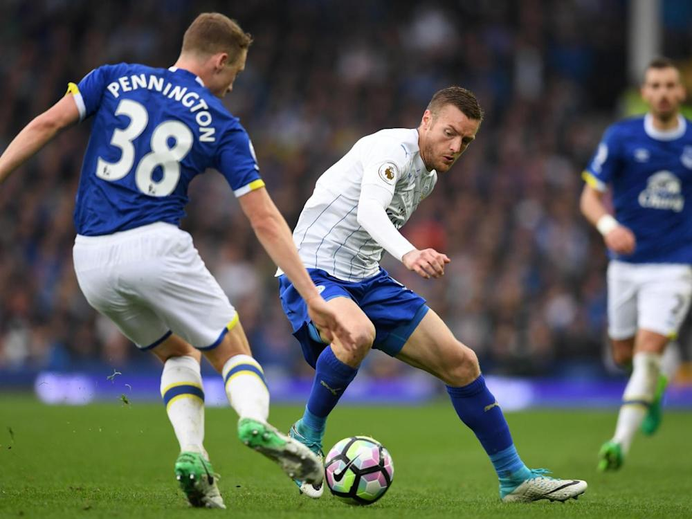Vardy is struggling for form (Getty)