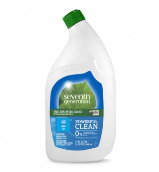 <p>Tackle stubborn stains with the <span>Seventh Generation Toilet Bowl Cleaner </span> ($4).</p>