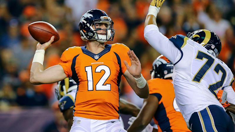 NFL schedule 2017: Broncos get rude intro for new coach; Patriots can cruise