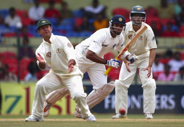 """""""I hope his back's pretty sore for next week as well and he can't play."""" - Ricky Ponting pays a back-handed compliment to Australia's nemesis, VVS Laxman (5 October 2010)"""