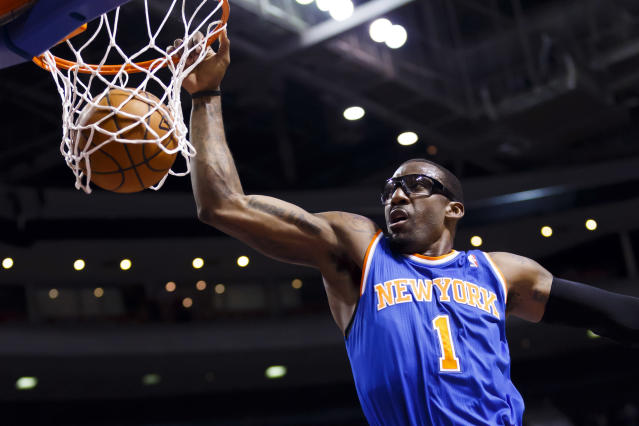 Amar'e Stoudemire, all these years and injuries later: 'My goal is to become a Hall of Famer'
