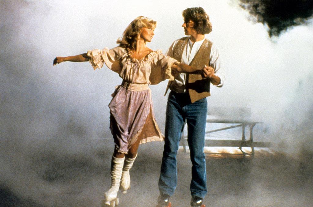 """<a href=""""http://movies.yahoo.com/movie/1800137414/info"""">Xanadu</a> (1980): I have vivid memories of listening to this soundtrack -- on 8-track, no less -- during carpool on the way to school in the morning. At age 8, I basically wanted to be Olivia Newton-John: She was so pretty and seemed so nice and she could sing and roller skate at the same time. Her collaboration here with Electric Light Orchestra -- the combination of her pleasant, pitch-perfect soprano voice and their driving, theatrical sound — was, if you'll pardon the pun, """"Magic."""" That's still a gorgeous song, by the way, as is """"Suddenly,"""" Newton-John's duet with Cliff Richard. My mom repeatedly caught me belting out these songs and the title tune, and while I was embarrassed at the time, I wasn't alone in my love of this music, as evidenced by the Broadway musical """"Xanadu"""" inspired."""