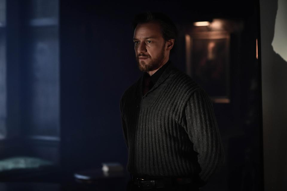 James McAvoy as Lord Asriel in 'His Dark Materials'. (Credit: BBC/HBO)