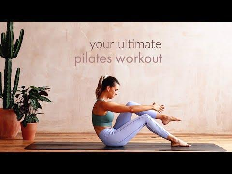 """<p>For the quintessential Pilates burn, look no further than Lottie Murphy's channel of equipment-free YouTube sessions. Murphy's been teaching Pilates for more than 10 years, leading viewers through core-focused ab routines, calm stretches, and full-length Pilates flows. Get ready to feel sore after this one.</p><p><a href=""""https://www.youtube.com/watch?v=FQRoS0KsQBo"""" rel=""""nofollow noopener"""" target=""""_blank"""" data-ylk=""""slk:See the original post on Youtube"""" class=""""link rapid-noclick-resp"""">See the original post on Youtube</a></p>"""
