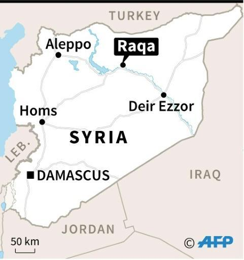 300 families of IS fighters flee Syria's Raqa: monitor