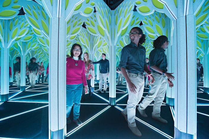 Mirror Maze at Frost Science Museum