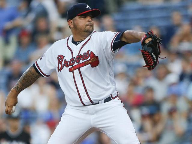 Former Braves and current Cubs pitcher Williams Perez reportedly involved in a fatal and apparently accidental shooting in Venezuela. (AP)