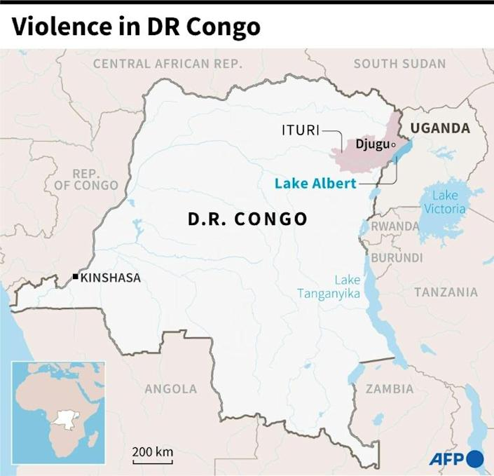 Ituri is one of several provinces in eastern DR Congo where violence is endemic