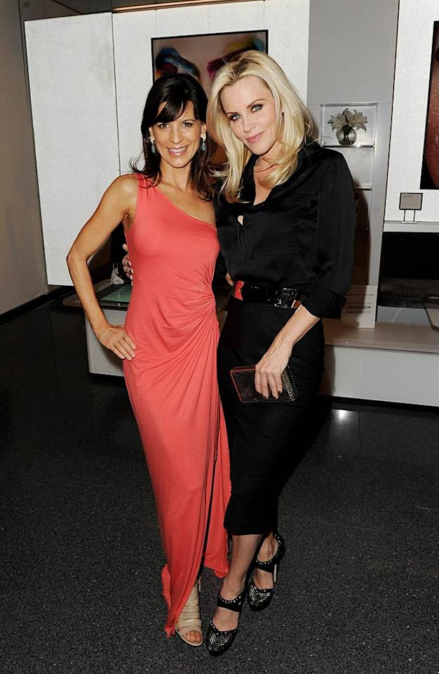 """Perrey Reeves (""""Entourage"""") and Jenny McCarthy showed off their fab senses of style. Kevin Winter/<a href=""""http://www.gettyimages.com/"""" target=""""new"""">GettyImages.com</a> - May 19, 2011"""
