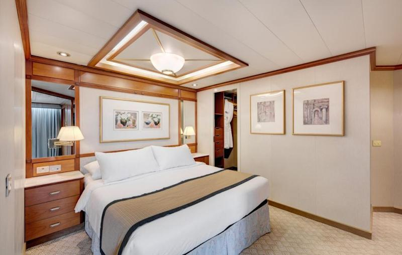 Each cabin is spacious and comes with its own ensuite. Source: Supplied