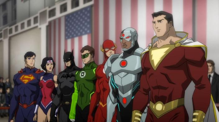 This is what we hope a&amp;nbsp;live-action Justice League film will&amp;nbsp;be. We don't spend time with individual origin stories, because we don't need to. This is a <strong>group</strong> origin story.&amp;nbsp;We&amp;nbsp;meet&amp;nbsp;these characters by way of them meeting each other.&amp;nbsp;That's the whole basis of the Justice League: the question of whether or not this team-up will work.<br /><br />As opposed to the lengthy &amp;ldquo;we-don&amp;rsquo;t-need-an-editor&amp;rdquo; big-budget films, this is resolved nicely in about an hour and 20&amp;nbsp;minutes as the&amp;nbsp;league&amp;nbsp;battles the incredibly powerful Darkseid.&amp;nbsp; <br /> <br />This is as great an introduction to the Justice League as you&amp;rsquo;re going to get. <br /><br />(As of publishing, this is currently on Netflix.)