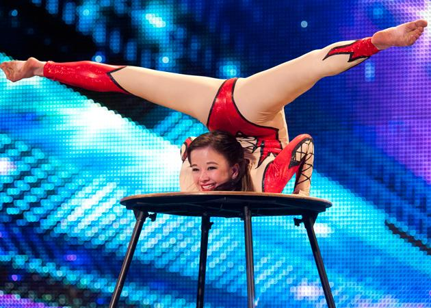 Britain's Got Talent photos: Alesha braves a bold look for BGT auditions.