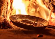 """<p>In Finland, small tin horseshoes are melted down and poured into a bucket of cold water. The shape the metal hardens into acts as your fortune. If it resembles a horse or boat, you will be <a href=""""https://www.housebeautiful.com/lifestyle/g13133053/top-travel-destinations-2018/"""" rel=""""nofollow noopener"""" target=""""_blank"""" data-ylk=""""slk:traveling in the coming year"""" class=""""link rapid-noclick-resp"""">traveling in the coming year</a>. A ring shape means there <a href=""""https://www.housebeautiful.com/lifestyle/g14389538/royal-wedding-fails/"""" rel=""""nofollow noopener"""" target=""""_blank"""" data-ylk=""""slk:will be a wedding"""" class=""""link rapid-noclick-resp"""">will be a wedding</a>. A broken ring symbolizes heartbreak, while a star will bring good fortune. </p>"""