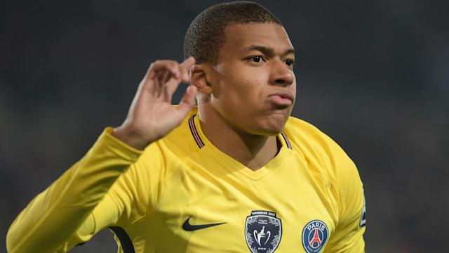 The PSG striker is not set for a long spell on the sidelines after suffering a scary-looking head injury against Lyon