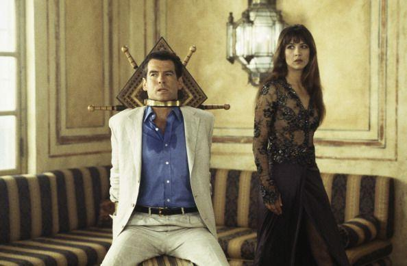 <p>Pierce Brosnan and Sophie Marceau in 'The World Is Not Enough' 1999. </p>